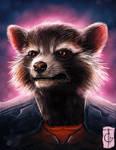 Fast Drawing - Rocket Raccoon