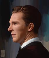 Benedict Cumberbatch by thegameworld