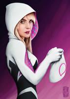Spider-Gwen by thegameworld
