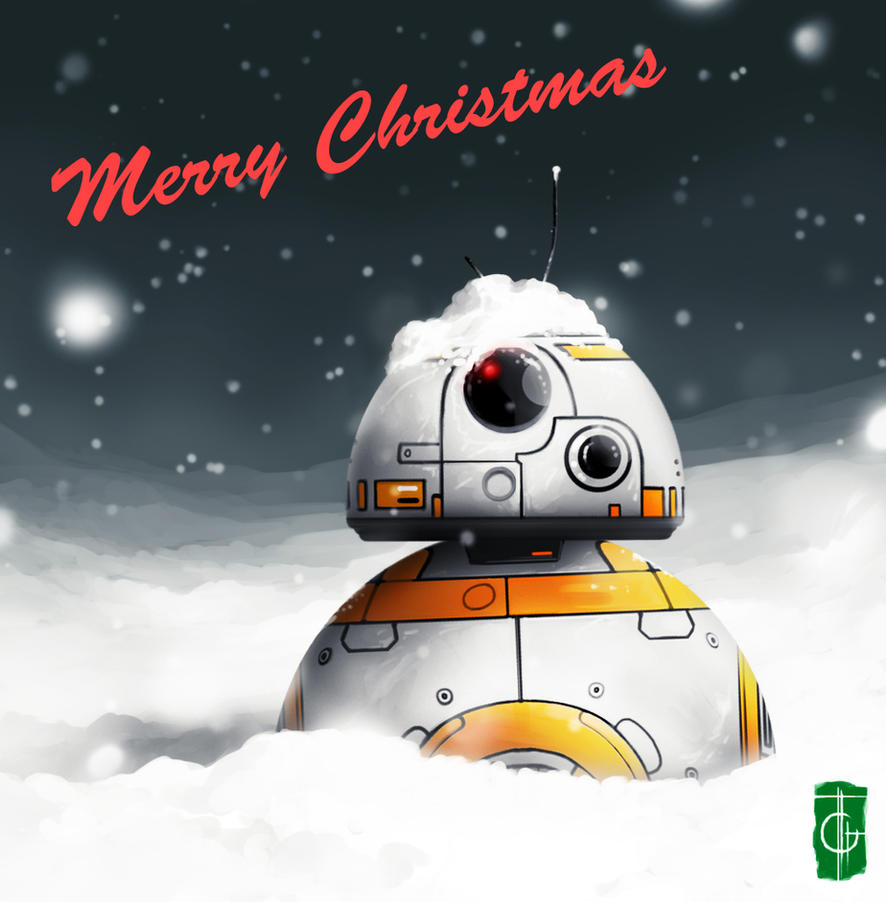 Christmas - BB8 by thegameworld