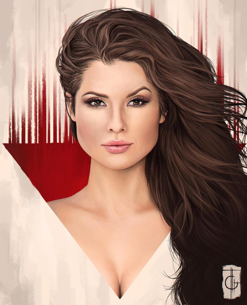 Amanda Cerny by thegameworld