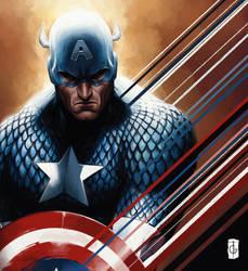 Captain America by thegameworld