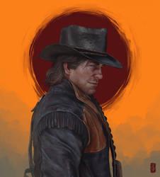Arthur Morgan by thegameworld