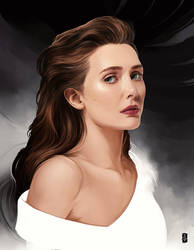 Elizabeth Olsen by thegameworld