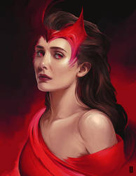 Scarlet Witch by thegameworld