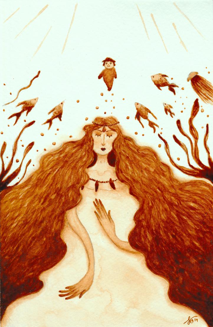 Granmamare by Figren