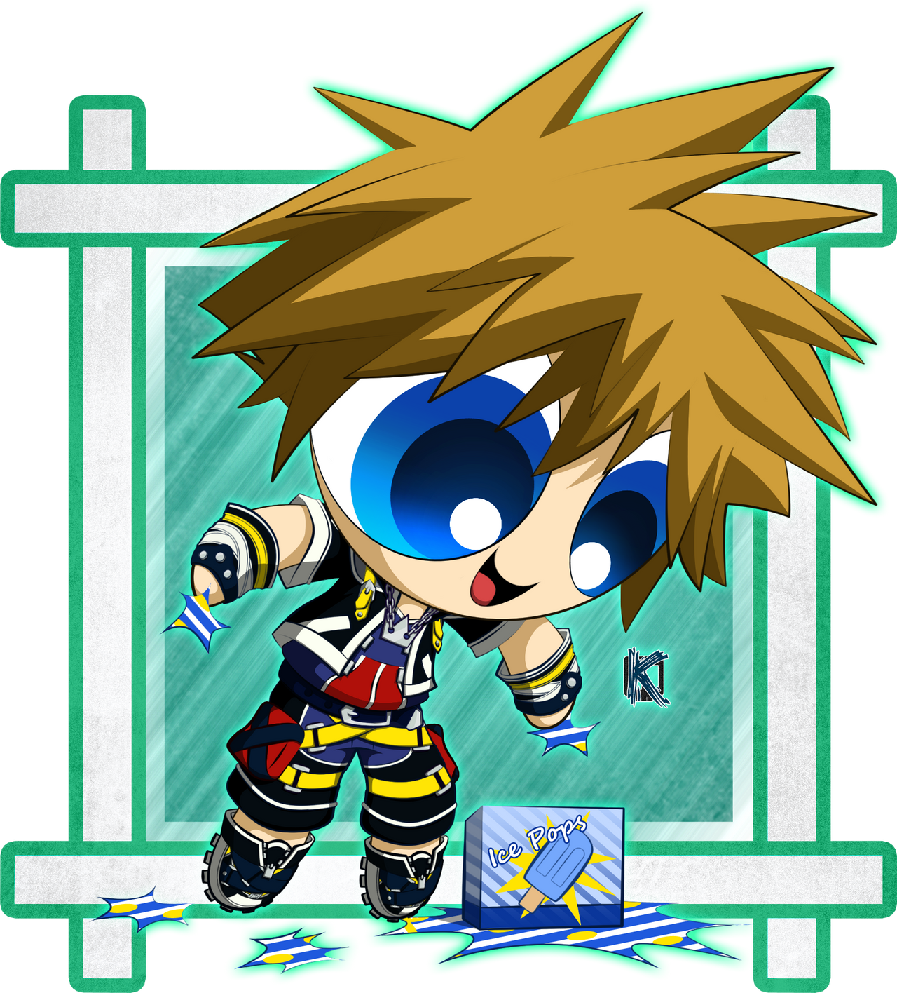 Kingdom Hearts 2: Sora: PPG Version by Komal08731