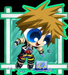 Kingdom Hearts 2: Sora: PPG Version by Komal08731