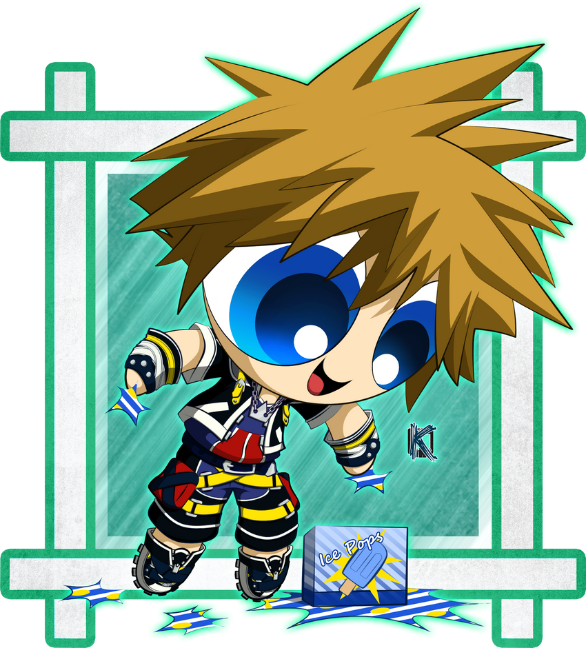 Sora Kingdom Hearts Image 745376: Kingdom Hearts 2: Sora: PPG Version By Komal08731 On