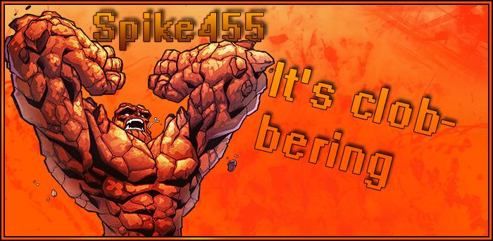 The Thing Fantastic 4 Fan Art by Spike455