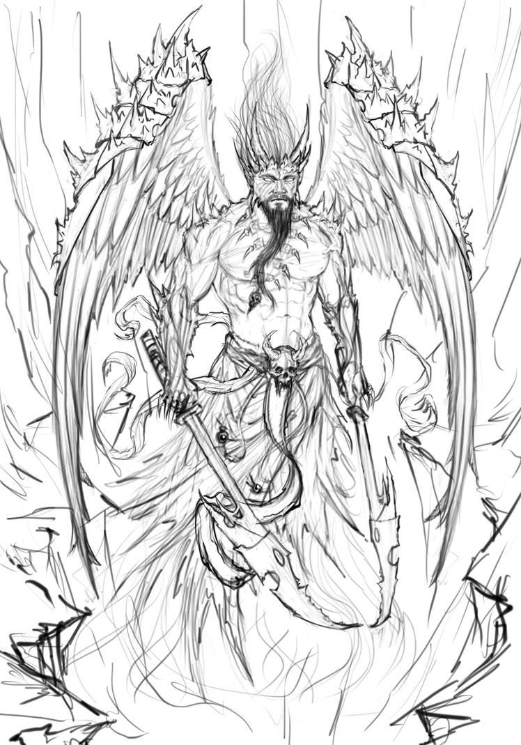 Demon angel'ish by DaniloLatino on DeviantArt