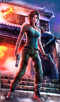 REBORN LARA: Weapons Of Choice - Tomb Raider 2013
