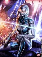 EDI: UNSHACKLED A.I. - Mass Effect 3 by Eddy-Shinjuku