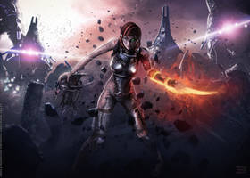 INDOCTRINATION ZERO - Mass Effect 3 by Eddy-Shinjuku