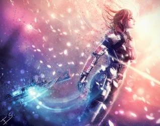 DENOUEMENT - Mass Effect 3 by Eddy-Shinjuku