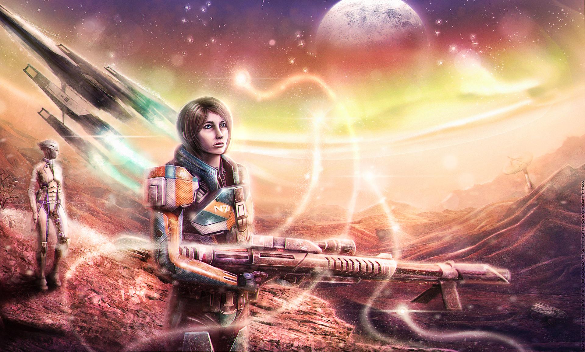 SPIRITS - Mass Effect (OC Commision) by Eddy-Shinjuku