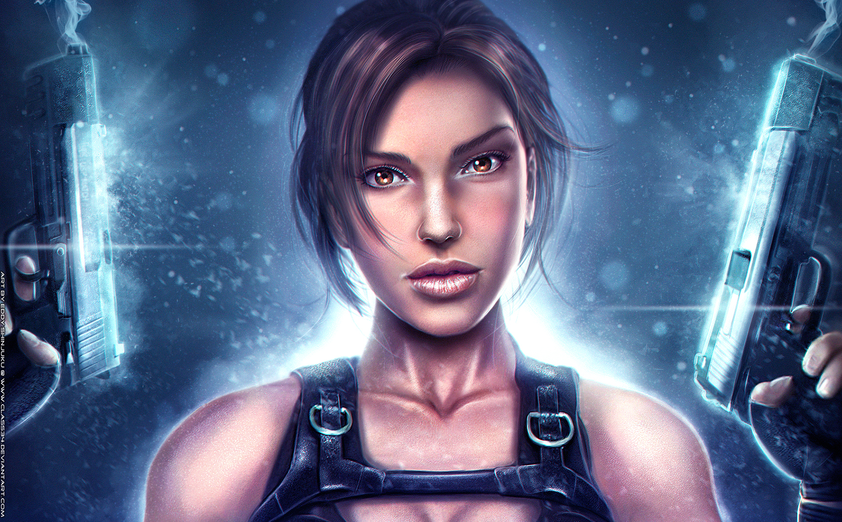 UNDERWORLD LARA: Two Is The Way To Be- Tomb Raider by Eddy-Shinjuku
