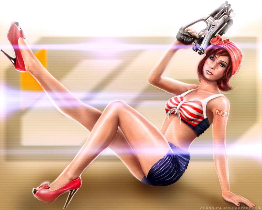 Kassa Fabrication: Gun Buff Jane - Mass Effect 3 by Eddy-Shinjuku