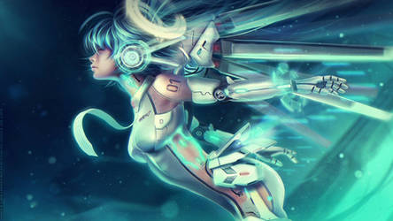 VOCALOID UNIT 01: Ascension Miku by Eddy-Shinjuku