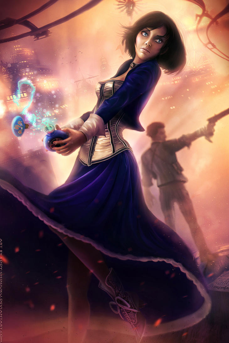 Freedom Run - BiOSHOCK INFINiTE by Eddy-Shinjuku