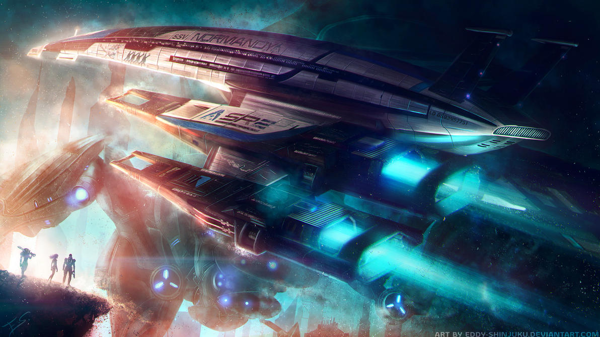 SSV NORMANDY SR2: Chariot of the Gods by Eddy-Shinjuku