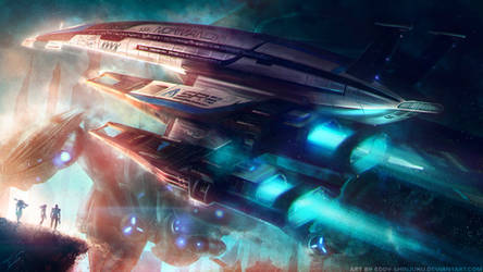 SSV NORMANDY SR2: Chariot of the Gods