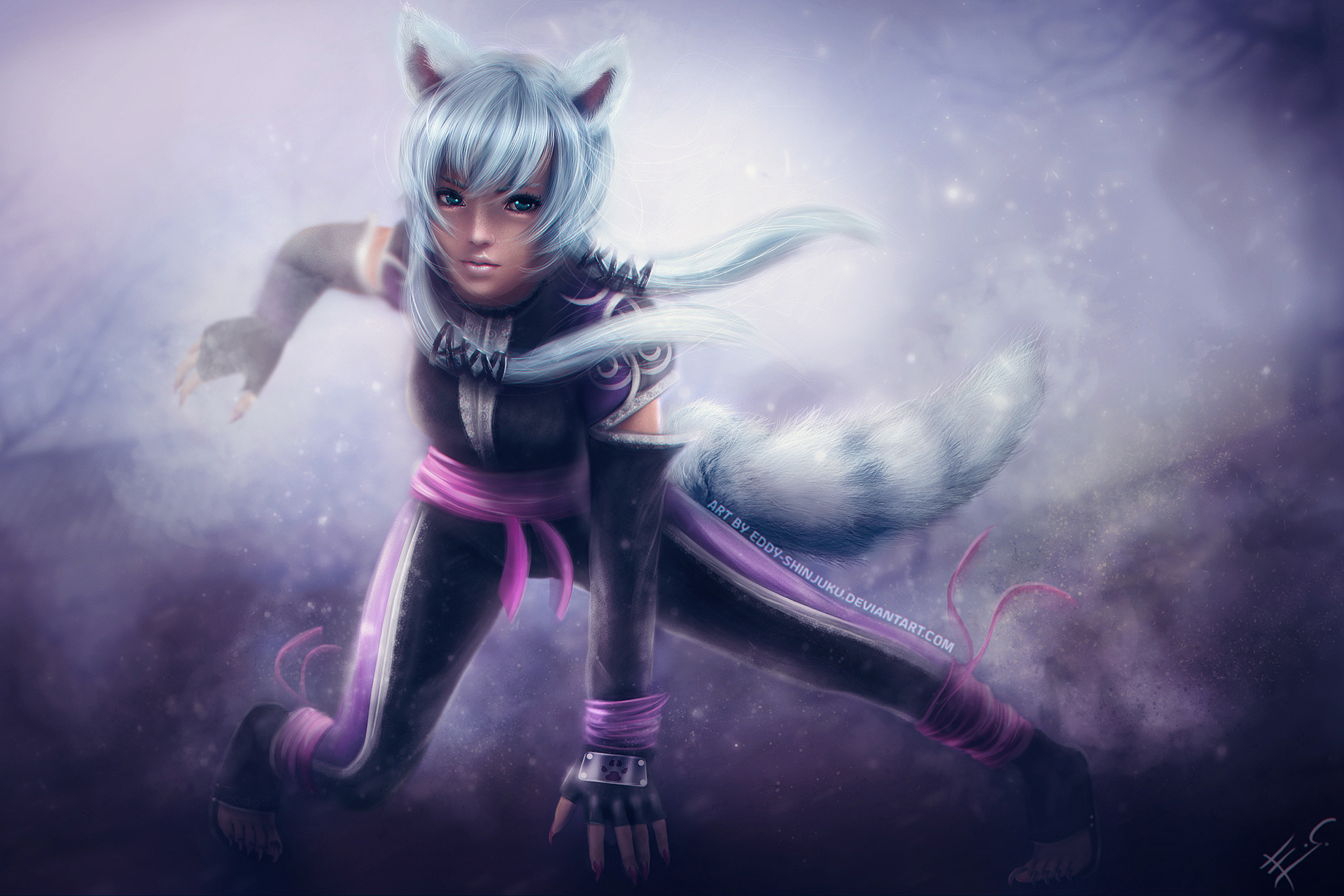 A U R O R A - Naruto OC Commission by Eddy-Shinjuku