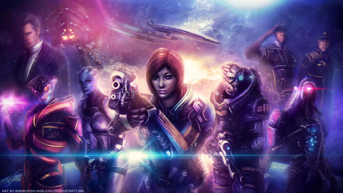 KIRA SHEPARD - Mass Effect OC Commission by Eddy-Shinjuku