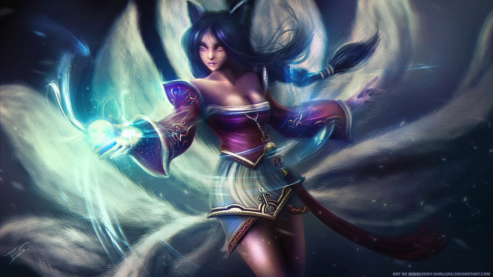 AHRI - League of Legends by Eddy-Shinjuku