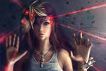 Little Fangirl Lightning - Final Fantasy