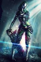 S H A L A - Mass Effect OC by Eddy-Shinjuku