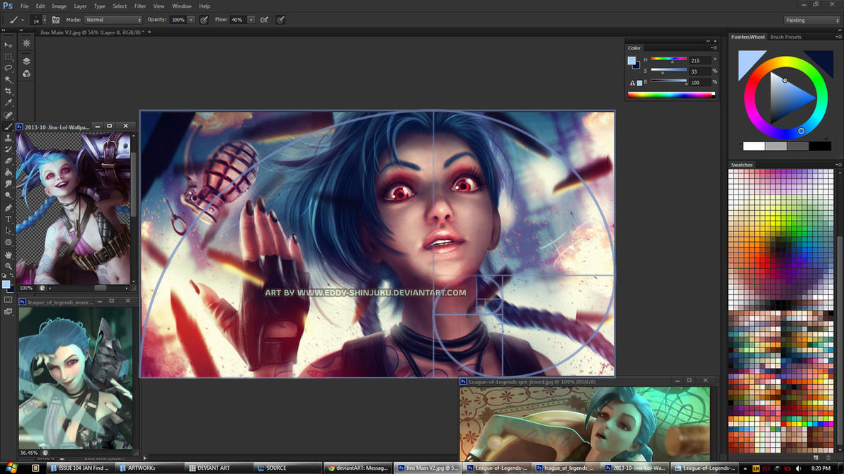 JiNX  WIP - League of Legends by Eddy-Shinjuku