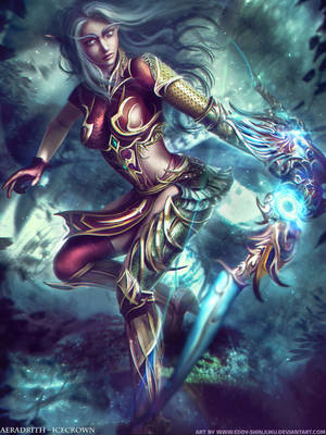World of Warcraft - Aeradrith by Eddy-Shinjuku