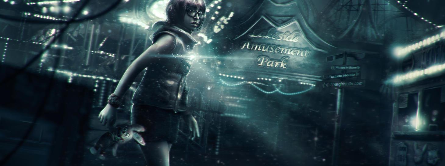 ThatGirlsSite Web Banner - Silent Hill by Eddy-Shinjuku
