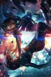 Mass Effect OC - Last Moments