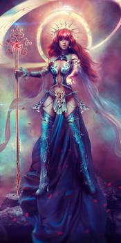 Lana Solaris - Original Character Commission