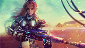 NOVA - STARCRAFT II Wallpaper Art