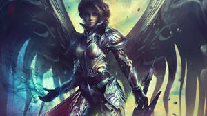 Vesudah: Archangel of the Infinite by Eddy-Shinjuku