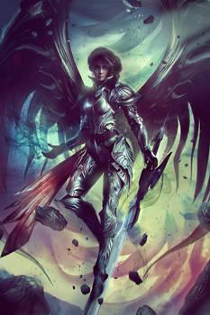 VESUDAH: Archangel of the Infinite - Full Art