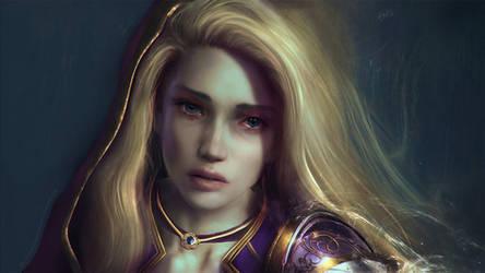 World of Warcraft Commission - Meloncholia Jaina
