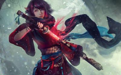 OSHIA - Final Fantasy XIV by Eddy-Shinjuku