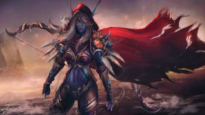 Sylvanas Windrunner - Warcraft Wallpaper Art