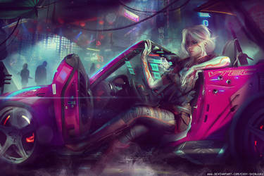 CYBERPUNK 2077 - A New Girl In Town by Eddy-Shinjuku