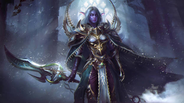 Lexith, Kaldorei Warden  - Warcraft Commission