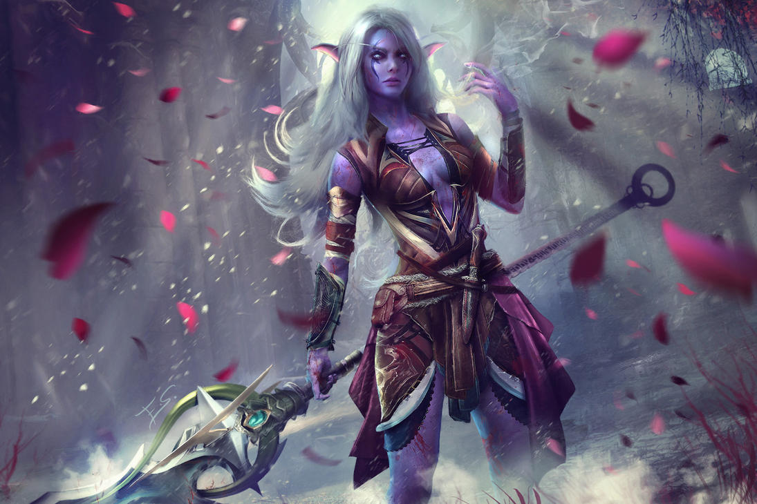 Lexith, Kaldorei Huntress  - Warcraft Commission by Eddy-Shinjuku