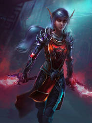 Lampshade - Warcraft Reddit Commission by Eddy-Shinjuku
