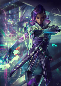 SOMBRA BlizzCon 2018 Commission by Eddy-Shinjuku