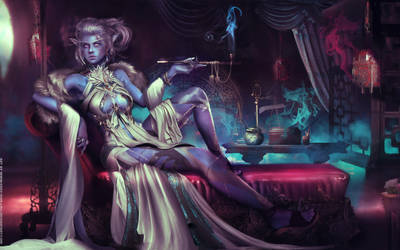 Highbourne Priestess - Warcraft Commission