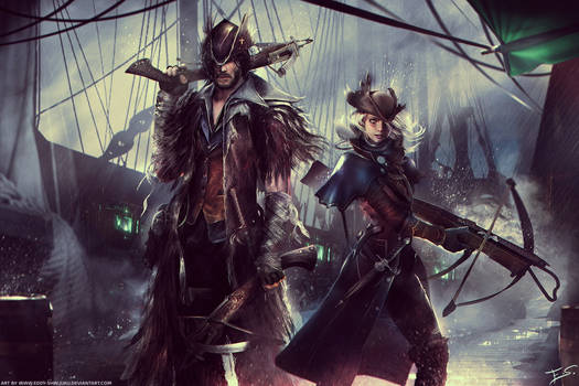 Bloodborne themed Dungeons and Dragons Commission