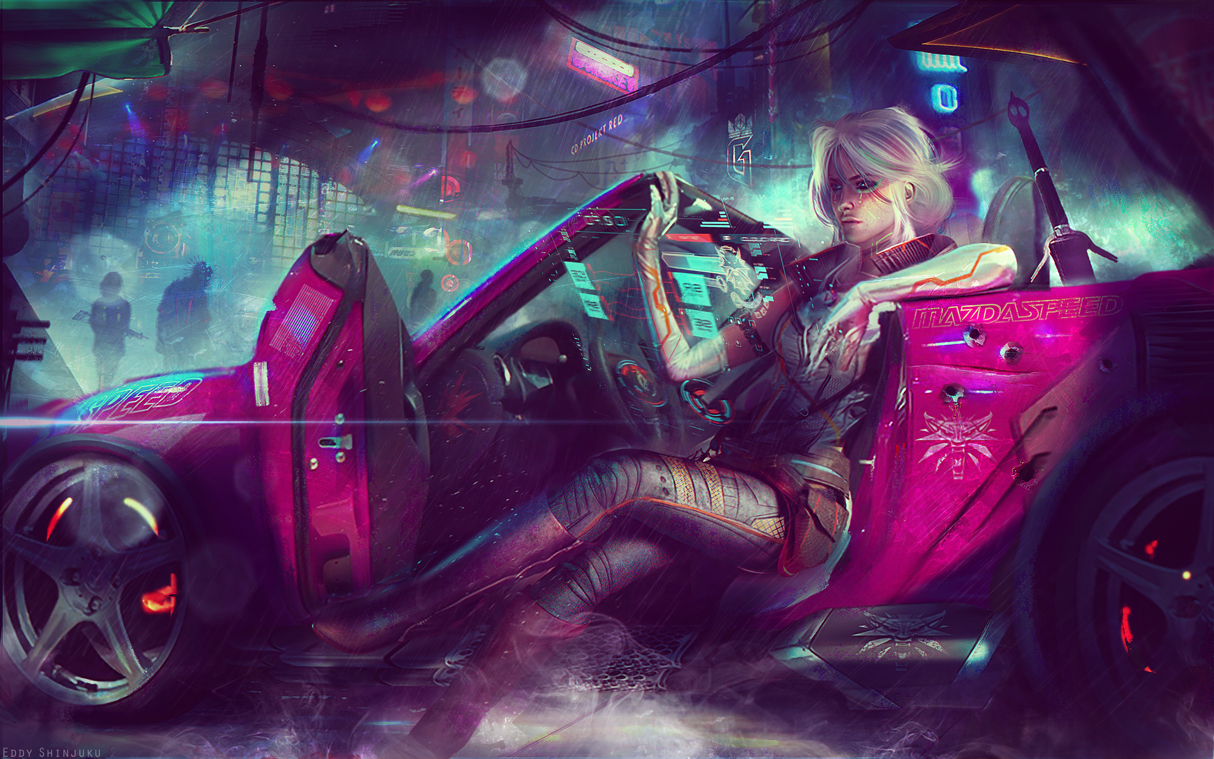 Ciri Cyberpunk 2077 4k Uhd Wallpaper By Eddy Shinjuku On Deviantart
